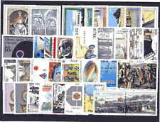 REPUBBLICA  -  MNH**  ANNATA  COMPLETA  1989  33   VALORI   NUOVA