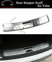 Fits for Land Rover Range Rover Velar 2018-2020 Rear Door Plate Cover Sill Trim