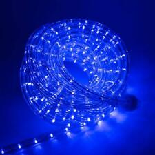 10' 20' 25' 50' 100' 150'FT Blue LED Rope Strip Light Connectable Indoor Outdoor