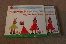 THE CRAYONETTES - PLAYING OUT: SONGS FOR CHILDREN AND ROBOTS (CD ALBUM)