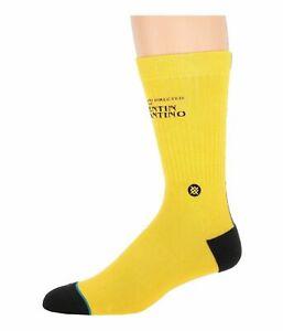 Stance KILL BILL Yellow Men's Classic Crew Socks M556C19KIL