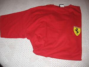 Formule 1 F1 fanatiques scuderia ferrari kid/'s T-Shirt-Rouge-Neuf