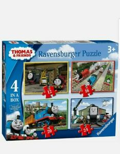 Ravensburger THOMAS & FRIENDS 4 IN A BOX JIGSAW PUZZLE Toys Games rrp£12