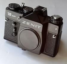 ZENIT 12 XP SLR REFLEX + leather case / étui cuir original