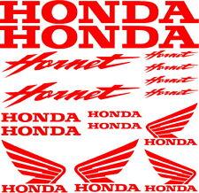 kit adesivi honda hornet moto racing bike sticker decal vinile rossi