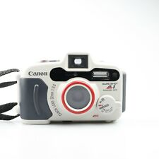 New ListingCanon Sure Shot A1 Panorama Date Underwater 35 mm Film Camera With Case