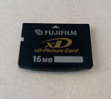 FujiFilm 16 Mb xD Picture Card -  Will Fit Olympus, Fujifilm Some Kodak Cameras