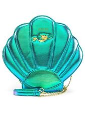 Loungefly Disney Ariel Shell Little Mermaid Iridescent Teal Crossbody Bag Purse
