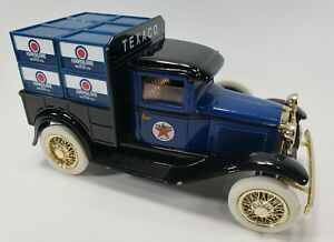 LIBERTY CLASSICS TEXACO MODEL A FORD PICKUP DIE CAST COIN BANK / LIMITED EDITION