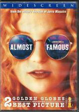 ALMOST FAMOUS The MOVIE on a DVD of ROCK Band GROUPIE Kate Hudson ROLLING STONE!