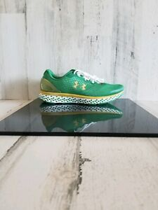 Under Armour Charged Notre Dame Fighting Irish Shoes 3021930-300 Women's Sz 9.5