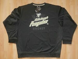 NEU/OVP: NHL PITTSBURGH PENGUINS LONGSLEEVE LANGARM SHIRT! MAJESTIC! Gr S - XXL