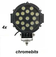 4tlg Hohe Energie 12V 24V LED Arbeits Lampe Scheinwerfer Lkw Auto 4X4 Anhänger