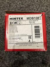 Mintex MDB1081 Front Brake Pad Set Teves Audi 50 80 100 Fox Golf Jetta Passat