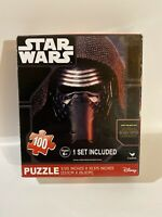 "Star Wars Disney Kylo Ren 100 piece Collectible The Force Awakens puzzle 9""x10"""