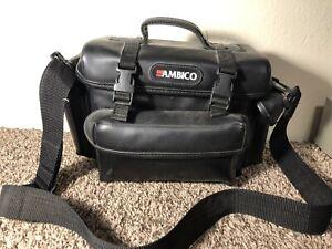 Ambico (Leather Camera/Camcorder Shoulder Bag) Large