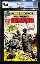 Savage Combat Tales #1 CGC 9.6 1975 Atlas-Seaboard NM+ 1st Death Squad H5 143 cm