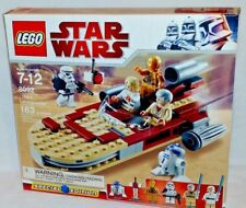 MISP 8092 LEGO Star Wars LUKE'S LANDSPEEDER Trooper R2-D2 C3PO 163pc set RETIRED