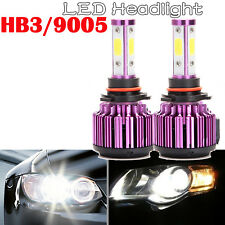 9005 HB3 9145 H10 6000K 100W LED Cree Projector High Driving Light Bulb White