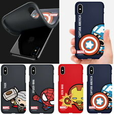 Avengers Sweet Soft Jelly Case for Samsung Galaxy Note9 Note8 Note5