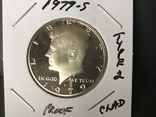1979-S Proof Kennedy Half Dollar Type 2 Mint Mark