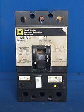 Square D KAL36125 125Amp 600Volt 3Phase Circuit Breaker