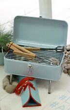 Laura Ashley Retro  Buck Egg Blue Barbeque New £60.00