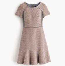 Temporary markdown: J. Crew Metallic Mixed Tweed Dress Size 8 NWT - Never worn!