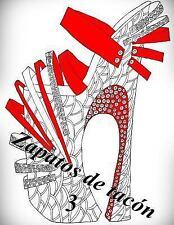 Zapatos de Tacón: Zapatos de Tacón 3: Libro para Colorear para Adultos by The...