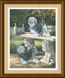 LOWCHEN limited edition art print 'The Regal Life' by Lynn Paterson