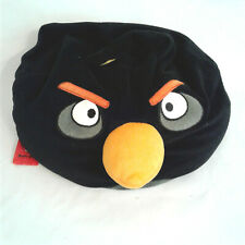 "Angry Birds 12"" Plush Black Bean Bag Stuffed Animal Pillow"