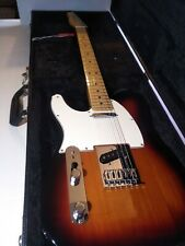 Fender Telecaster Brown Sunburst Mexico 6 String Electric Guitar Left Hand 2018