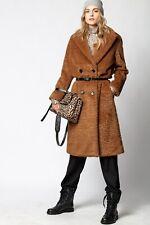 Nwt Zadig & Voltaire Runway MIKO Faux Fur coat Sz M
