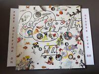 LED ZEPPELIN III WORKING PINWHEEL COVER 1970 LP IN SHRINK W/ HYPE SD 19128