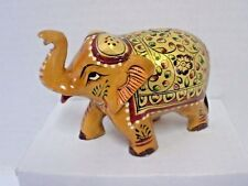Wooden Elephant - Good Detail - Hand Crafted