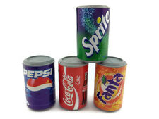 Lot 4 Mix Coca Cola Can Soft drink PLASTIC 3D FRIDGE MAGNET SOUVENIR TOURIST