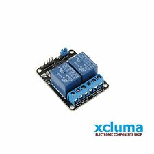 XCLUMA 2 CHANNEL 5V RELAY BOARD MODULE RELAY EXPANSION ARDUINO RASPBERRY BE0020