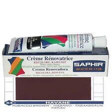 CREME CIRAGE PIGMENTAIRE RENOVATRICE CUIR SAPHIR AVEL TUBE 25 ML HAVANE 34