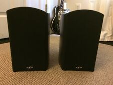 Lot Of 2 Paradigm Reference Studio 10 V5 BLACK High Definition Bookshelf Speaker