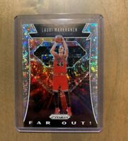 2019-20 PANINI PRIZM - LAURI MARKKANEN -  FAR OUT FAST BREAK SILVER DISCO