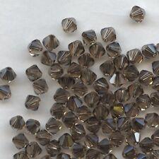 T5 5301  LCTY *** 20 toupies cristal Swarovski 5 mm LIGHT COLORADO TOPAZ SATIN