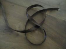 RUBAN SATIN MARRON - dimensions 1 m * 9 mm