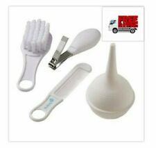 Safety 1st Baby Care Basics White 4 Pcs Brush Comb Nail Clippers Nasal Aspirator
