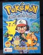 Pokemon Merlin Sticker Album 2000 100% Complete & Poster Excellent Condition.