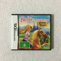 Barbie Horse Adventures: Riding Camp Nintendo DS PAL Video Game - Complete