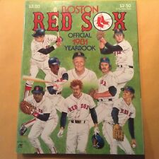 """BOSTON RED SOX Official 1981 Yearbook Mint Condition""""No tears or Folds"""" 64 Pages"""