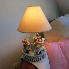 Lampe Céramique abat-jour 1950