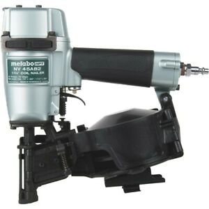 """Metabo HPT NV45AB2 1-3/4"""" Coil Roofing Nailer (New)"""