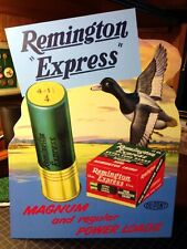 Repro Remington Express Kleanbore Standing Advertising Die Cut