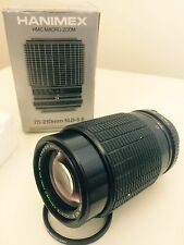 Hanimex Macro 70-210 f4.0-5.6 For Minolta